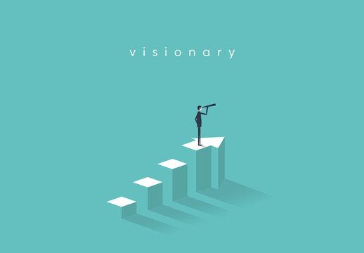 Business Visionary Illustration 3