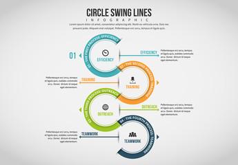 Half Circle Chain Infographic 4