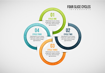 4 Grouped Circles Infographic 1