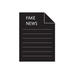 fake news concept- vector illustration