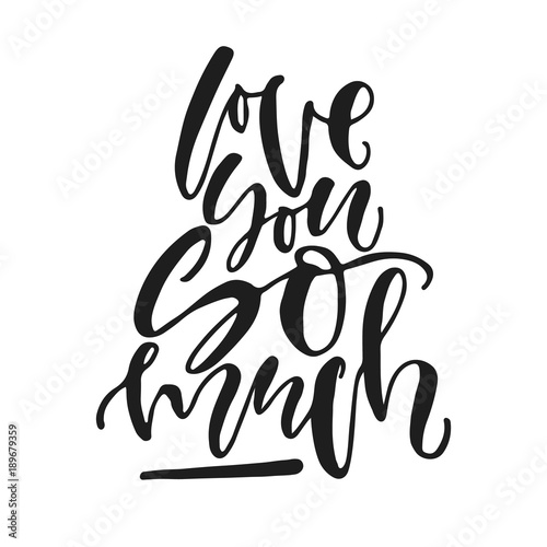 I Love You More Than All The Stars In The Sky Hand Written Black