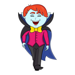 Funny Vampire Cartoon