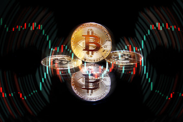 golden bitcoin cryptocurrency BTC