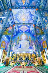Beautiful buddha image in Wat Rong Sua Ten Temple