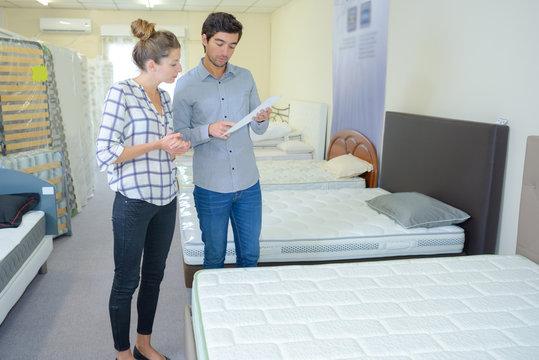 choice of mattress