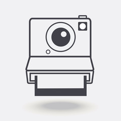 camera with a photo card icon