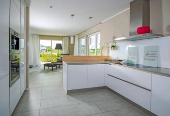 moderne Kücheneinrichtung, Wohnungseinrichtung
