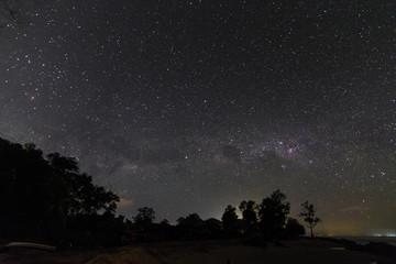 The Milky Way at Pantai Manis, Papar Sabah Malaysia.