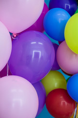 balloons and gifts for birthday celebration