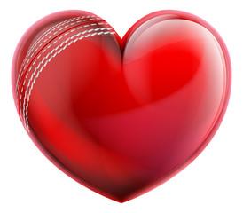 Heart Shape Cricket Ball