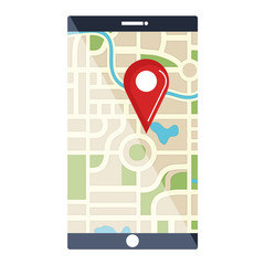 smartphone device with gps app
