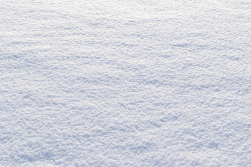 Background of fresh snow texture. Snow and christmas concept