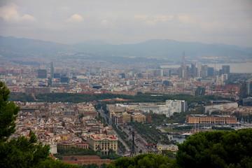 panoramic, barcelona