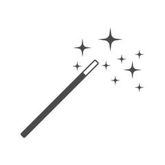 Magic Stick Vector Icon