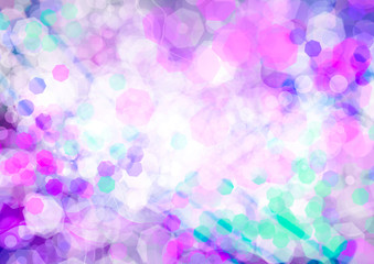 purple blue green abstract background
