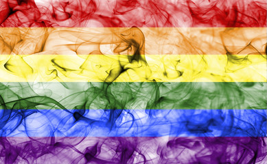 Gay smoke flag