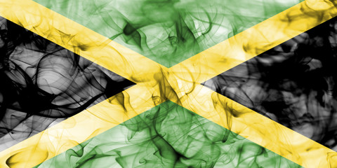 Jamaica smoke flag