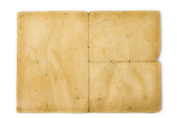 Old vintage blank paper. Texture concent for backgrounds
