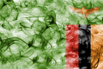 Zambia smoke flag