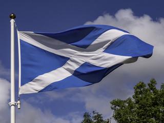 Scottish flag - Flag of Scotalnd