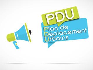 mégaphone : PDU