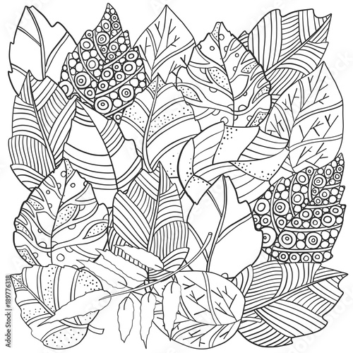 """fall zentangle coloring pages 