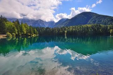 Laghi di Fusine, Tarvisio, Friuli, Italia