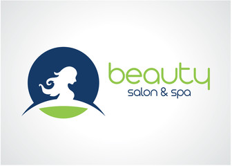 Beauty Salon and Spa Logo Template Design Vector, Emblem, Design Concept, Creative Symbol, Icon