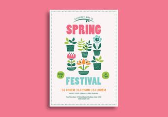 Spring Festival Event Flyer 2