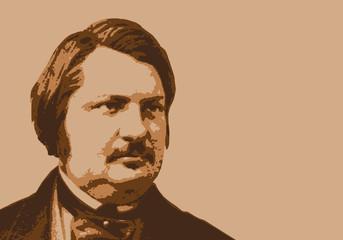 Balzac - écrivain - portrait - personnage historique - littérature - personnage célèbre - livre