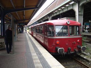 Schienenbus Railcar Rail Car Bundesbahn