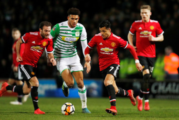 FA Cup Fourth Round - Yeovil Town vs Manchester United