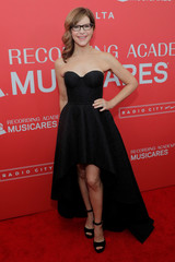 Lisa Loeb arrives to attend the 2018 MusiCares Person of the Year show honoring Fleetwood Mac at Radio City Music Hall in Manhattan, New York