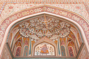 Art at Amer Fort Rajasthan India