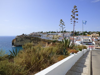 Carvoeiro localidad de Lagoa, en el Algarve (Portugal)