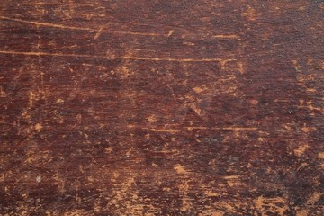 The surface of wooden boards with old paint