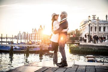 Couple in Venice