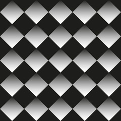 Background of black and white rhombuses