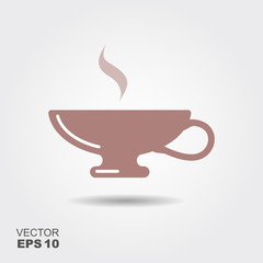 Tea Cup Vector Icon