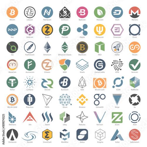 Cryptocurrency stock symbols list