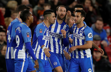 FA Cup Fourth Round - Middlesbrough vs Brighton & Hove Albion