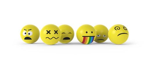 Smileys auf Drogen