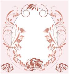 flower pattern pink