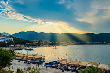 Icmeler Beach: Popular beach destination in Marmaris, Turkey