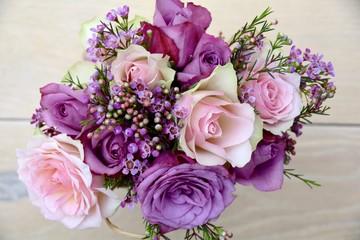 Blumenstrauß - Rosen - Muttertag - Valentinstag Blumen
