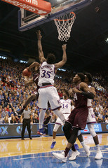 NCAA Basketball: Texas A&M at Kansas