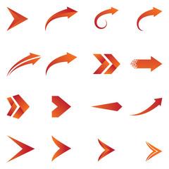 Arrow icon vector design