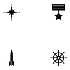navy icon set