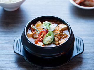 Korean soup spicy from Kimji