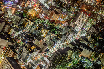 Yokohama city view, Japan